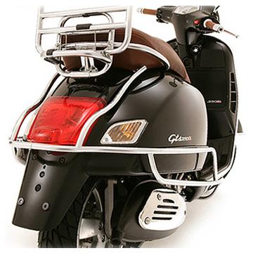 vespa chrome accessories | scooter crazy ltd
