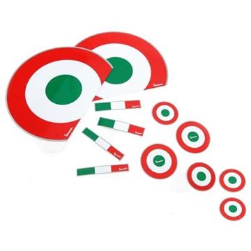 Vespa s target italy sticker kit